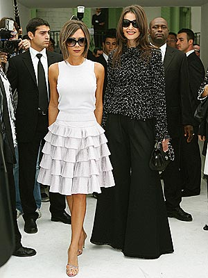 IN SYNC photo | Katie Holmes, Victoria Beckham
