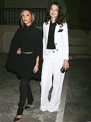NIGHT FEVER photo | Katie Holmes, Victoria Beckham