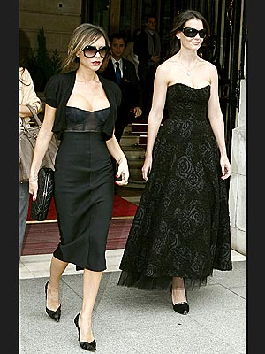 BLACK MAGIC photo | Katie Holmes, Victoria Beckham