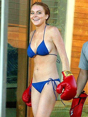 Think, Lindsay lohan bikini ass