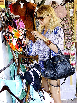 nicole richie shopping