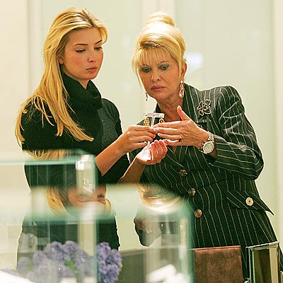 FAMILY AFFAIR photo | Ivana Trump, Ivanka Trump