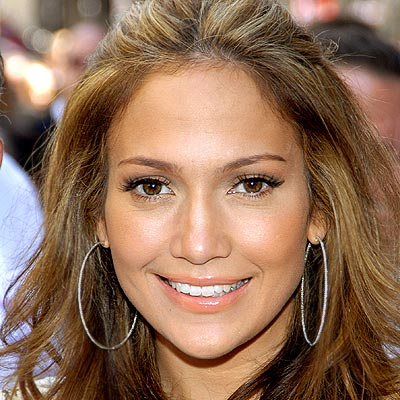 Jennifer Lopez hair fashion 2009