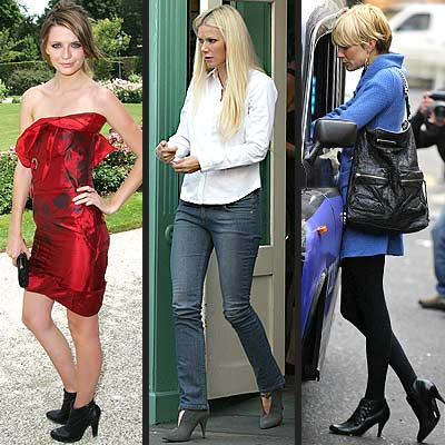 Ankle Boots photo | Gwyneth Paltrow, Mischa Barton, Sienna Miller
