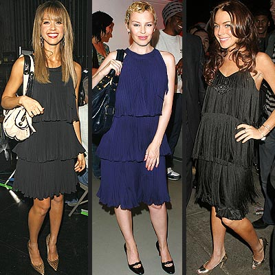 TRIPLE-TIERED DRESSES photo | Jessica Alba, Kylie Minogue, Lindsay Lohan