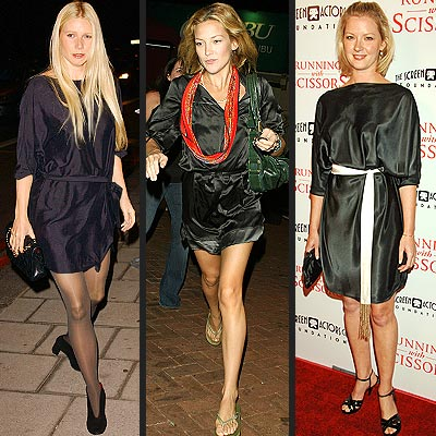 SASHED BLACK TUNICS photo | Gretchen Mol, Gwyneth Paltrow, Kate Hudson