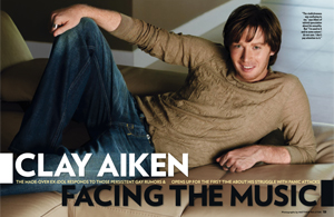 Clay Aiken Facing the Music