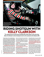 Riding Shotgun with Kelly Clarkson