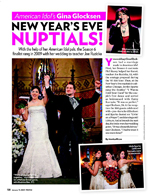 Gina Glocksen's New Year's Eve Nuptials!