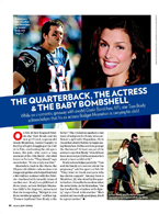 The Quarterback, the Actress & the Baby Bombshell