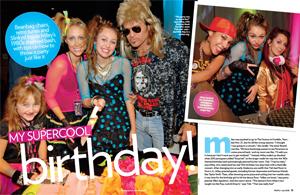 Miley's Supercool Birthday
