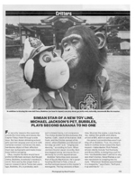 Michael Jackson's Pet, Bubbles, Plays Second Banana to No One