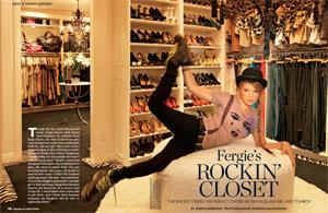 Fergie closet for Famous people closets