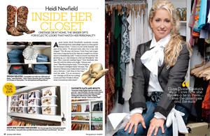Heidi Newfield: Inside Her Closet