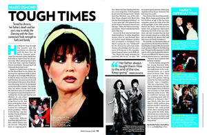Marie Osmond Tough Times