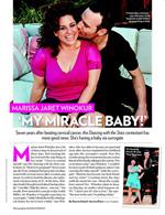 Marissa Jaret Winokur 'My Miracle Baby!'