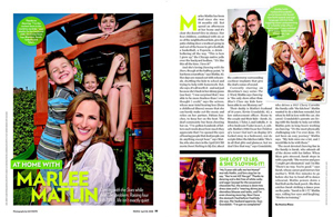At Home with Marlee Matlin