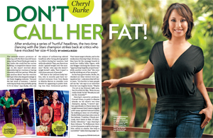 Cheryl Burke: Don't Call Her Fat!