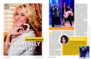 Julianne Hough: 'I Was Really Scared'