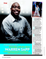 5 Questions for ... Dancing with the Stars' Warren Sapp