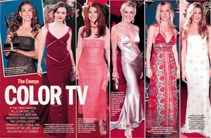 The Emmys Color TV