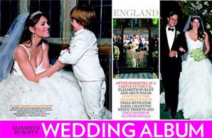 Elizabeth Hurley's Wedding