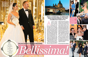 Salma Hayek's Venice Wedding!