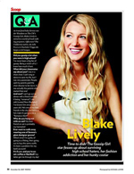 Q&A With Blake Lively