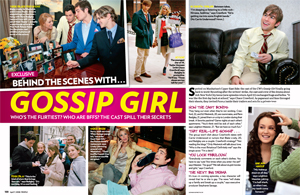 Behind the Scenes with ... Gossip Girl