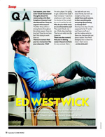 Q&A With Ed Westwick
