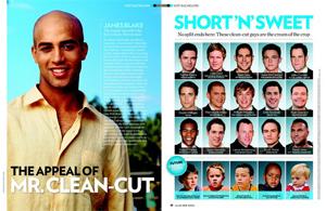 Mr. Clean-Cut