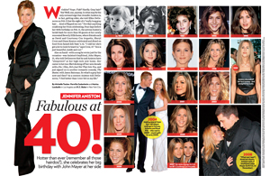 Jennifer Aniston Fabulous at 40!