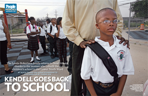 Kendell Goes Back to School