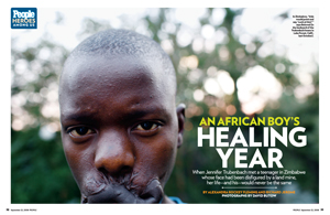 An African Boy&#39;s Healing Year