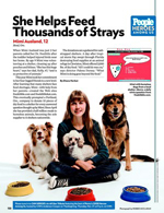 She Helps Feed Thousands of Strays