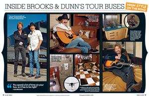 Inside Brooks & Dunn's Tour Buses