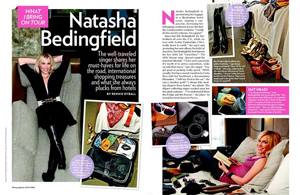 Natasha Bedingfield: What I Bring On Tour