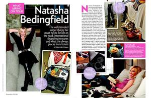 Natasha Bedingfield: What I Bring On Tour