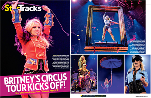 Britney&#39;s &#39;Circus&#39; Comes to Town