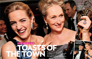 The Parties Toasts of the Town