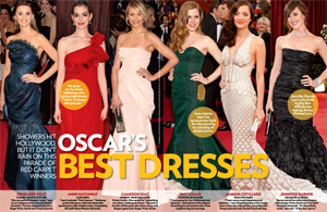 Oscar's Best Dresses