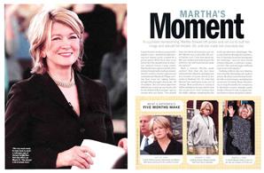 Martha's Moment