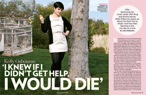 Kelly Osbourne 'I Knew If I Didn't Get Help, I Would Die'