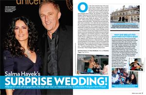 Salma Hayek's Surprise Wedding!
