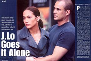 J.Lo Goes It Alone