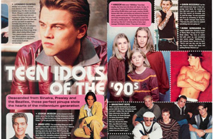 Teen Idols of the '90s