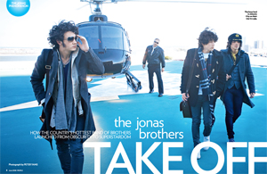 The Jonas Brothers Take Off