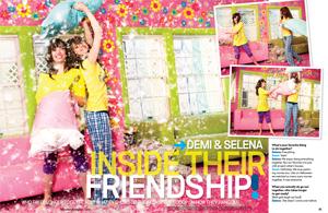 Demi & Selena BFFs Forever