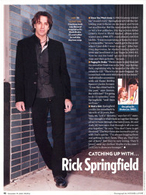 Catching Up With...Rick Springfield