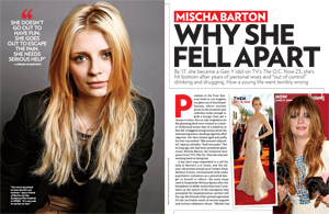Mischa Barton Why She Fell Apart